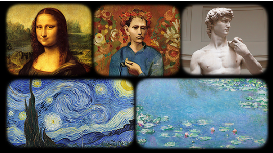 5 Major painter and masterpieces of the world