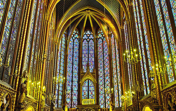 """Sainte Chapelle Church"", amazing and the classic"