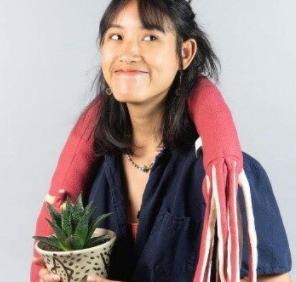 """Lalal"", an Thai artist who has won awards"